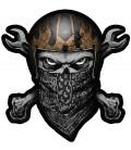 Lethal Angel Patch Skull Bandana