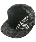 Metal Mulisha Flexfit Cap Filler Black