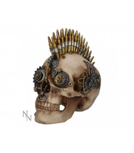 Nemesis Now Steampunk Schädel Gears of War