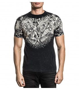Affliction Shirt Angels Revival