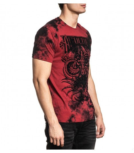 Affliction Shirt Cast Fleur