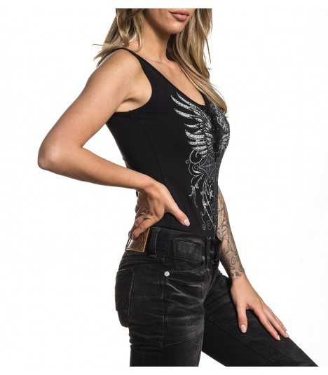 Affliction Bodysuit Renegade Cross