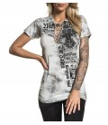 Affliction Shirt Ruthless and Wild