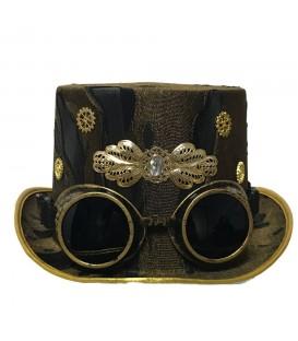 Nemesis Now Steampunk Hut mit Brille