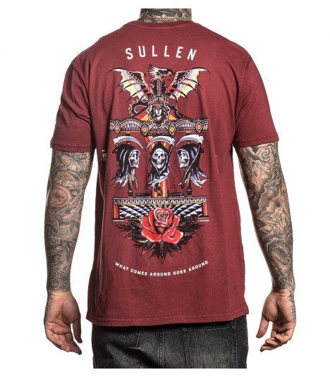 Sullen Shirt Go Around Rosewood