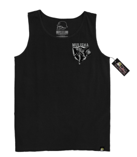 Metal Mulisha Tank End Zone Black
