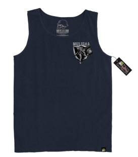 Metal Mulisha Tank End Zone Navy