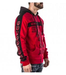 Headrush Zip Hoody Red