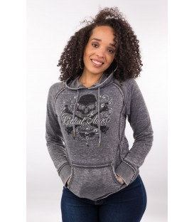 Lethal Angel Hoody Crossbones