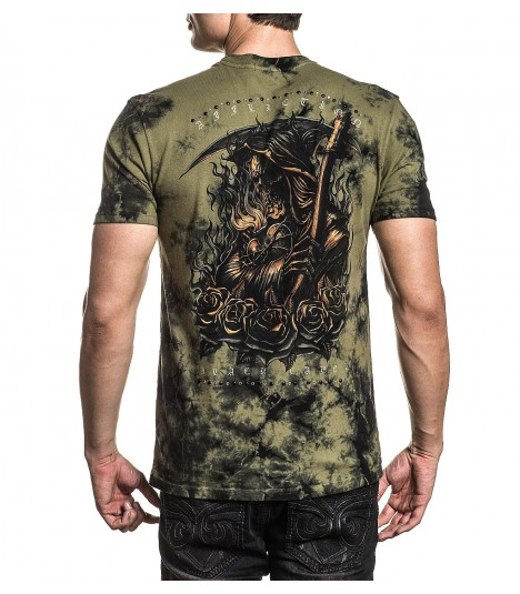 Affliction Shirt Forged in Flames