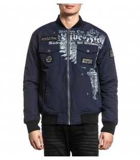 Affliction Bomber Jacke Invictus
