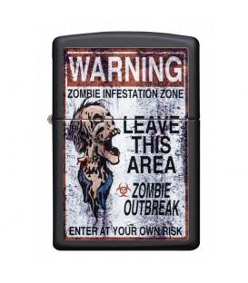 Zippo Warning Zombie