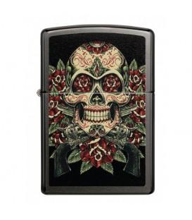 Zippo Skull and Roses