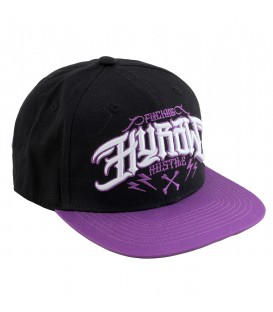 Hyraw Snapback Cap Purple Fuck