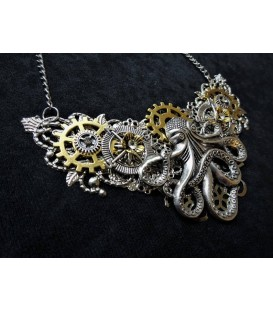 Steampunk Halskette Cthulhu