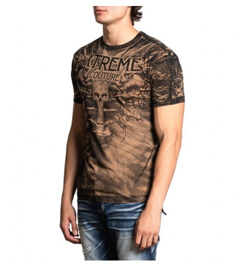 Xtreme Couture by Affliction Shirt Charred Remains