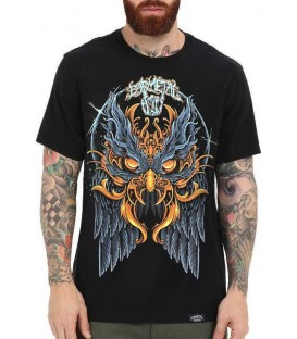 Barmetal Shirt Obsessive Owl