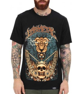 Barmetal Shirt Gold Lion