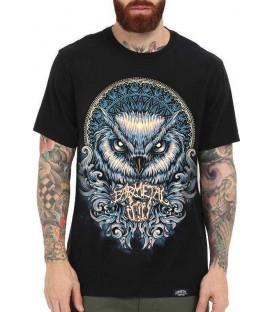 Barmetal Shirt Owl Mandala