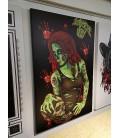 Barmetal Leinwand 90x60 CM Zombie Apocalypse
