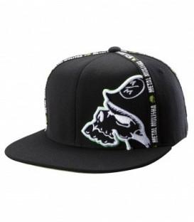 Metal Mulisha Flexfit Cap Form Black Green