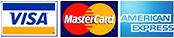 VISA Mastercard American Express - Credit Cards Debit Cards